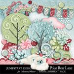 Polar Bear Lane Add On Embellishment Pack-$3.49 (Jumpstart Designs)
