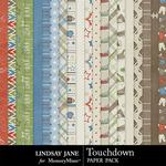 Touchdown Paper Pack-$3.49 (Lindsay Jane)