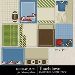 Touchdown Journal Cards-$1.99 (Lindsay Jane)