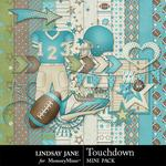 Touchdown Aqua Mini Pack-$1.99 (Lindsay Jane)