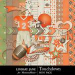 Touchdown Orange Mini Pack-$1.99 (Lindsay Jane)