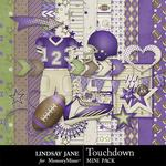 Touchdown Purple Mini Pack-$1.99 (Lindsay Jane)