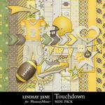 Touchdown Yellow Mini Pack-$1.99 (Lindsay Jane)