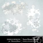 Snow Kissed Accents Pack-$1.99 (Indigo Designs)