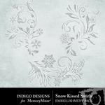 Snow Kissed Swirls Pack-$1.99 (Indigo Designs)