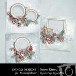 Snow Kissed QuickPages-$3.49 (Indigo Designs)