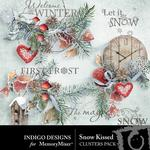 Snow Kissed Clusters Pack-$1.99 (Indigo Designs)