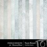 Snow Kissed Paper Pack-$1.49 (Indigo Designs)