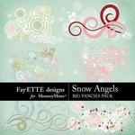 Snow Angels Big Fancies Pack-$1.99 (Fayette Designs)