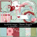 Snow Angels Basics Mini Pack-$3.49 (Fayette Designs)