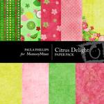 Citrus Delight Paper Pack-$3.99 (Paula Phillips)