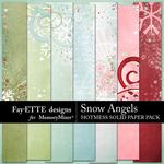 Snow Angels HotMess Solids Paper Pack-$2.99 (Fayette Designs)