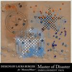 Master of Disaster Grunge Scatters-$1.00 (Laura Burger)
