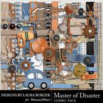 Master of Disaster Combo Pack-$4.99 (Laura Burger)