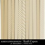 Kraft Capers Paper Pack-$3.99 (Karen Lewis)