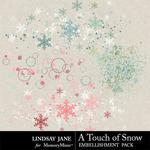 A Touch of Snow Scatterz-$1.99 (Lindsay Jane)