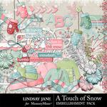 A Touch of Snow Embellishment Pack-$3.49 (Lindsay Jane)