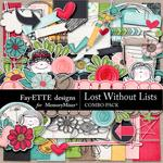 Lost Without Lists Combo Pack-$3.00 (Fayette Designs)