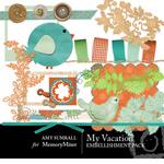 My Vacation Embellishment Pack-$3.00 (Amy Sumrall)
