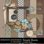 Simply Rustic Combo Pack-$4.99 (Laura Burger)