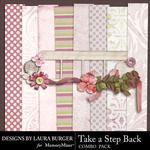 Take A Step Back Combo Pack-$4.99 (Laura Burger)