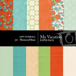 My Vacation Paper Pack-$4.00 (Amy Sumrall)