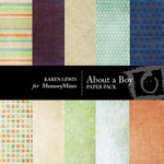 About A Boy Paper Pack-$3.99 (Karen Lewis)