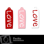 Love Tags Freebie-$0.00 (Lasting Impressions)