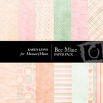 Be Mine Paper Pack-$4.00 (Karen Lewis)