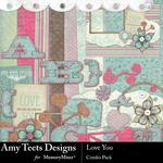 Love You Combo Pack-$4.99 (Amy Teets)