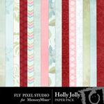 Holly Jolly FP Paper Pack-$1.75 (Fly Pixel Studio)