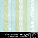Holly Jolly FP Paper Pack 2-$1.75 (Fly Pixel Studio)