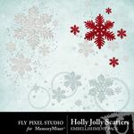 Holly Jolly FP Scatters-$1.99 (Fly Pixel Studio)