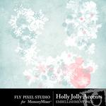 Holly Jolly FP Stamps-$1.00 (Fly Pixel Studio)