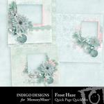 Frost Haze Quick Pages-$3.49 (Indigo Designs)