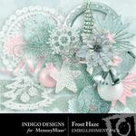 Frost Haze Embellishment Pack-$2.99 (Indigo Designs)