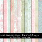 Pure Indulgence Paper Pack-$3.49 (Laura Burger)