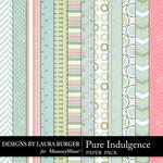 Pure Indulgence Second Paper Pack-$3.49 (Laura Burger)
