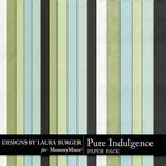 Pure Indulgence Solid Paper Pack-$3.49 (Laura Burger)