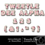 Tweetle Dee Alphabet Pack-$1.00 (Paula Phillips)
