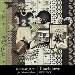 Touchdown Black Mini Pack-$1.99 (Lindsay Jane)