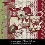 Touchdown Burgundy Mini Pack-$1.99 (Lindsay Jane)