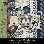Touchdown Navy Mini Pack-$1.99 (Lindsay Jane)