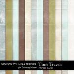 Time Travels Solids Paper Pack-$3.49 (Laura Burger)