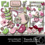 Tweetle Dee Embellishment Pack-$3.50 (Paula Phillips)