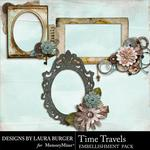 Time Travels Clusters-$2.49 (Laura Burger)