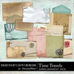 Time Travels Journaling Items-$2.49 (Laura Burger)