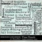 Time Travels WordArt-$2.49 (Laura Burger)