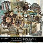 Time Travels Combo Pack-$4.99 (Laura Burger)