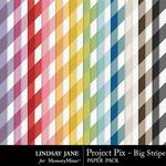 Project Pix Big Stripe Paper Pack-$1.99 (Lindsay Jane)